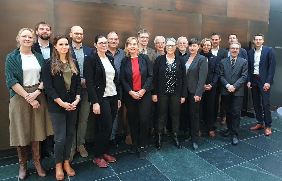 Gruppenfoto mit den Jurymitgliedern 2020.