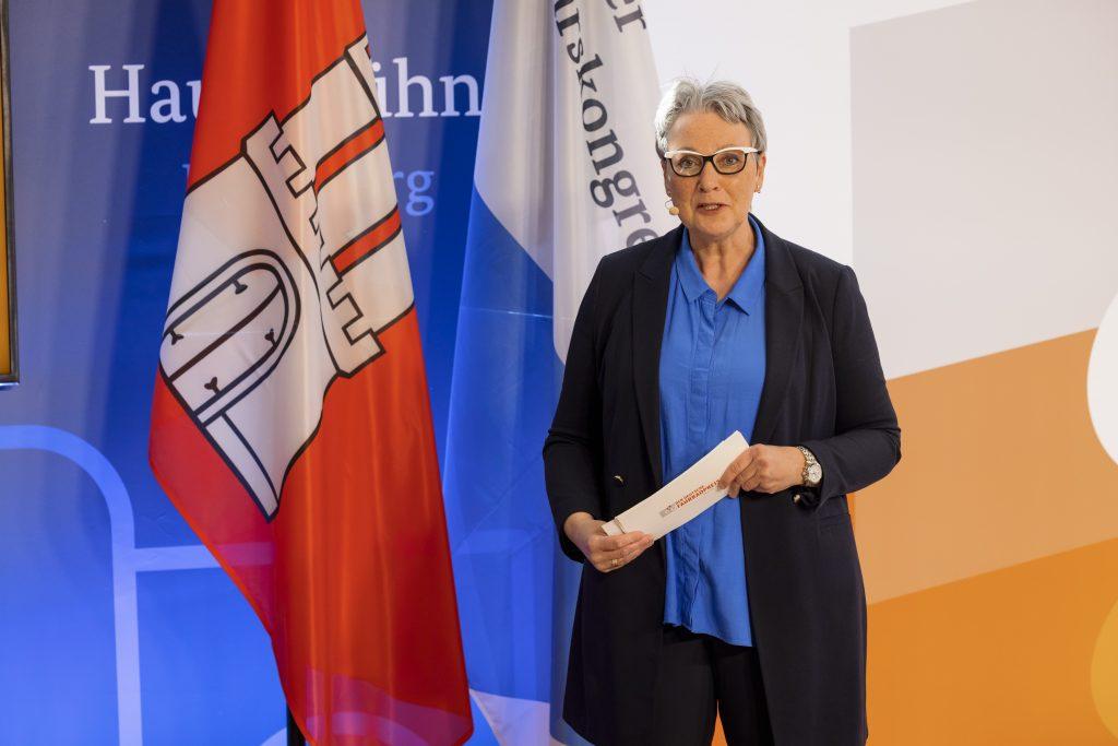 Christine Fuchs, Vorstand der AGFS NRW.