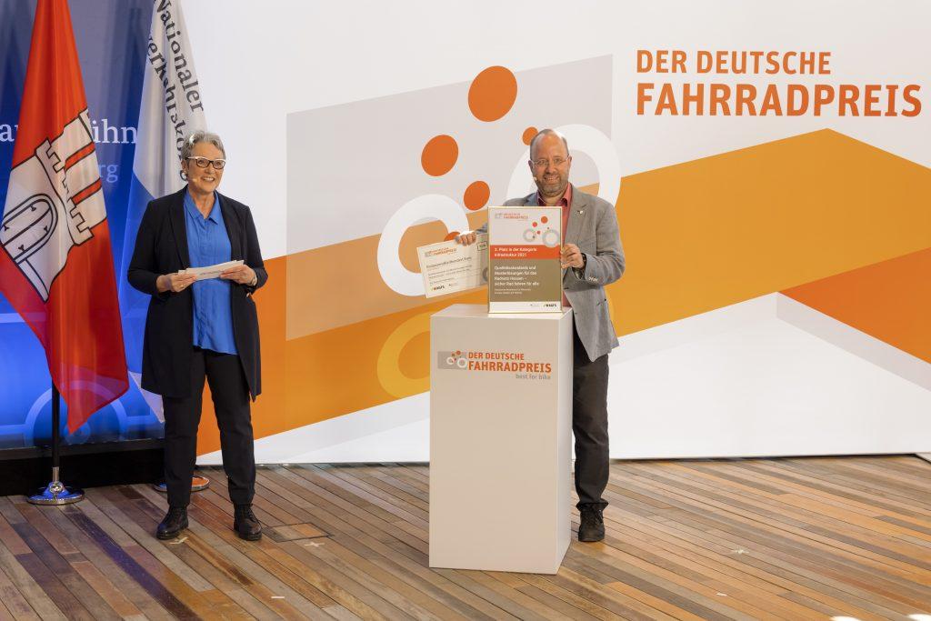 3. Platz in der Infrastruktur geht an Dr. Klaus Dapp, Hessisches Ministerium für Wirtschaft, Energie, Verkehr und Wohnen