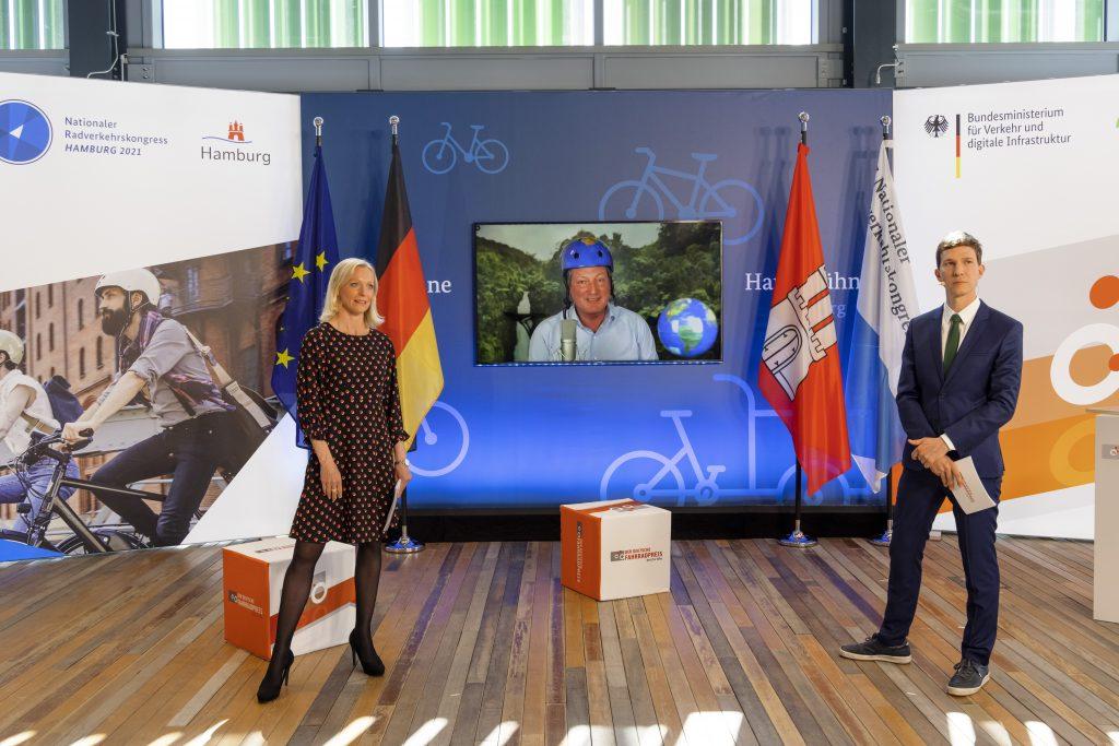 Dr. Eckart von Hirschhausen ist Fahrradfreundlichste Persönlichkeit 2021.